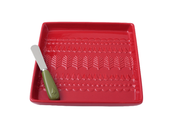 Hallmark Home - Holiday Cheese Tray Set