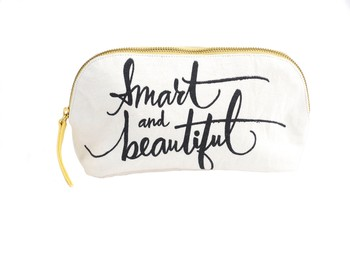 Hallmark 'Smart and Beautiful' Make Up Pouch