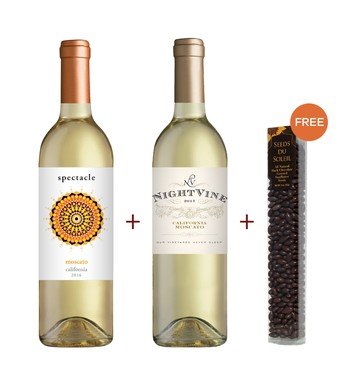 Night Vine & Spectacle Moscato 2-Pack