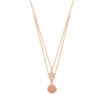 Sole Du Soleil - Double Circle Necklace