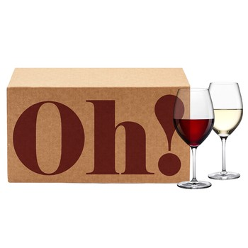 Oh! Now Gift Box (Vine Oh! Red & White Wine 2 Quarterly Box Gift Subscription)