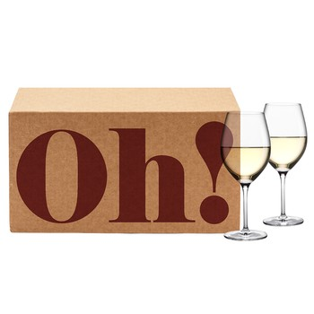 Oh! Now! Gift Box (Vine Oh! White Wine 2 Quarterly Box Gift Subscription)