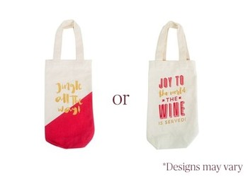 Wine For Life + Holiday Wine Tote