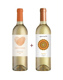 New Crush & Spectacle Moscato 2-Pack
