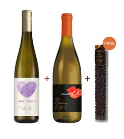 New Crush Riesling & Mad Love Chardonnay 2-Pack