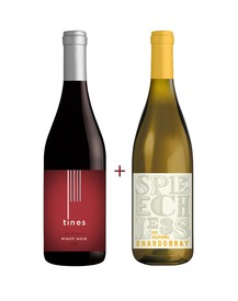 Tines Pinot Noir & Speechless Chardonnay 2-Pack