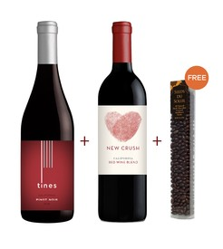 New Crush Red Blend & Tines Pinot Noir 2-Pack