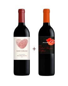 New Crush Red Blend & Mad Love Cabernet Sauvignon 2-Pack