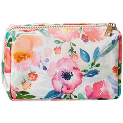 Tickled Pink - Makeup bag - Floral