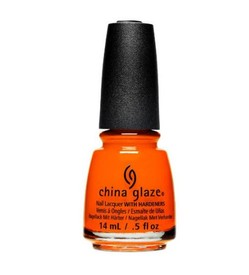 China Glaze Nail Lacquer - Orange Knockout