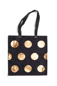 Gold Metallic Tote Bag